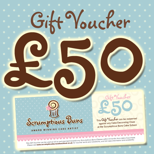 cake decorating class norwich gift voucher
