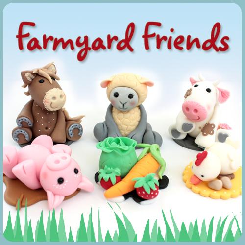 farm animal sugarcraft modelling class