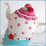 teapot cake ball cake covering class decorating class norwich norfolk
