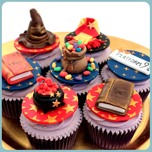 harry potter, cupcakes, cake, decorating, class, norwich, norfolk