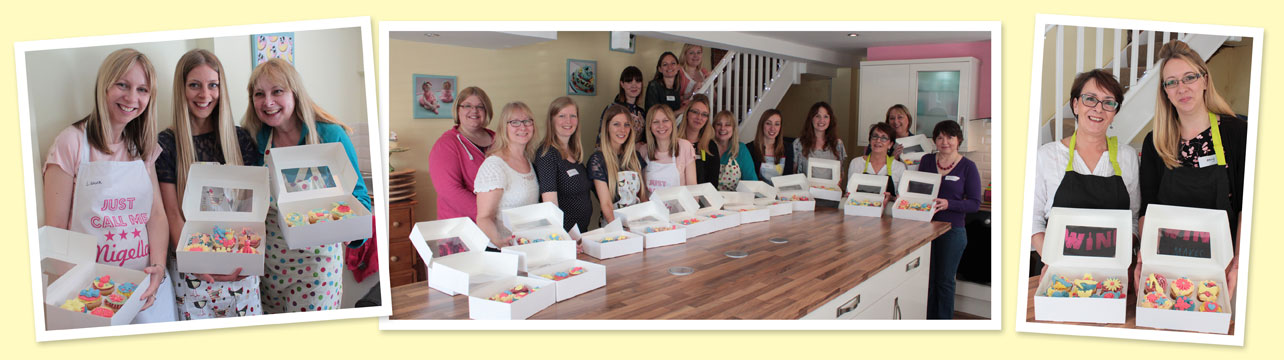 hen parties, hen party, cupcake decorating, party, norwich, norfolk, cake school, scrumptious buns